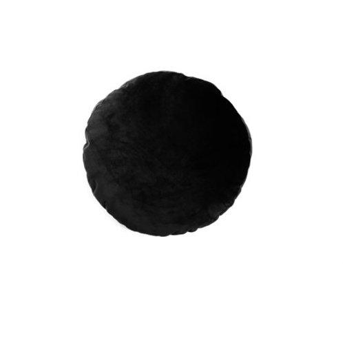 COUSSIN ROND NOIR DIA45CM