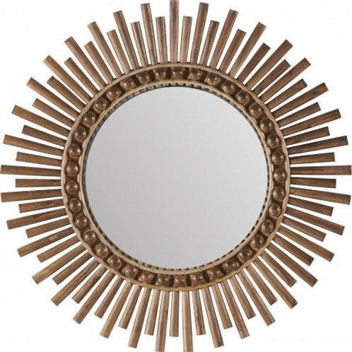 Miroir Bambou Bûchette D84cm