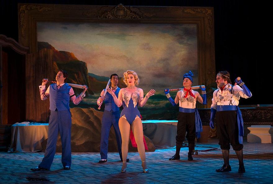 Jason Vest in Cincinnati Opera's Ariadne auf Naxos