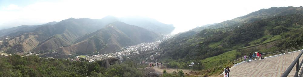 Vista panoramica de la Ciudad de Piñas