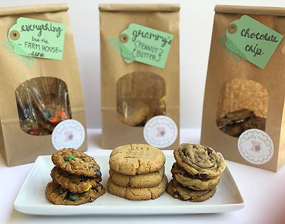 Delivered our first order of drop cookie