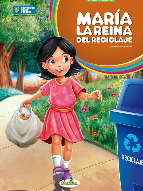 María la reina del reciclaje