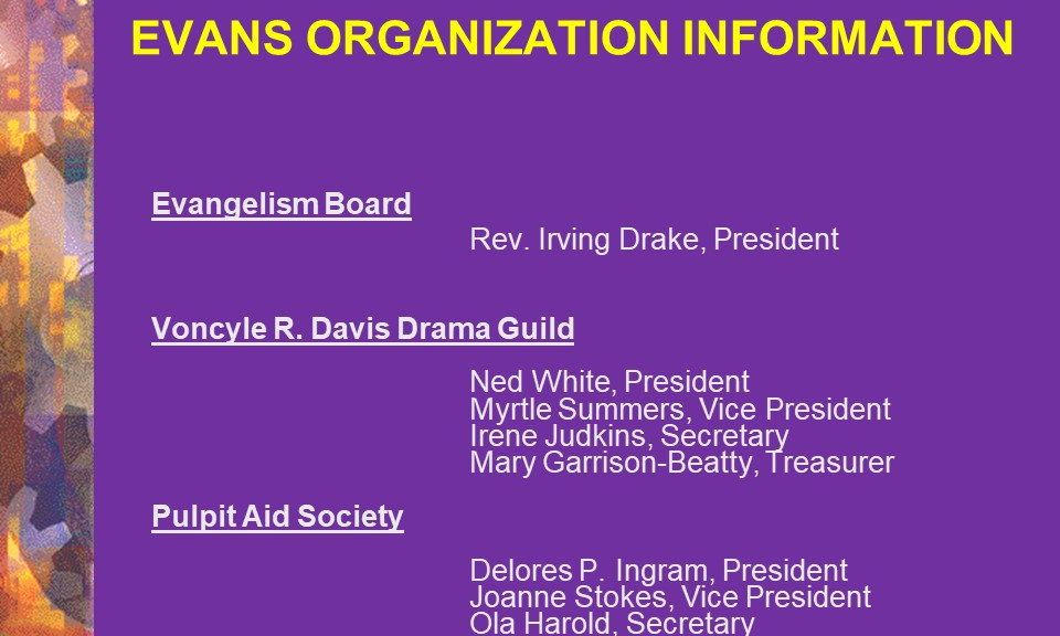 16-Evangelism Board & Pulpit Aid