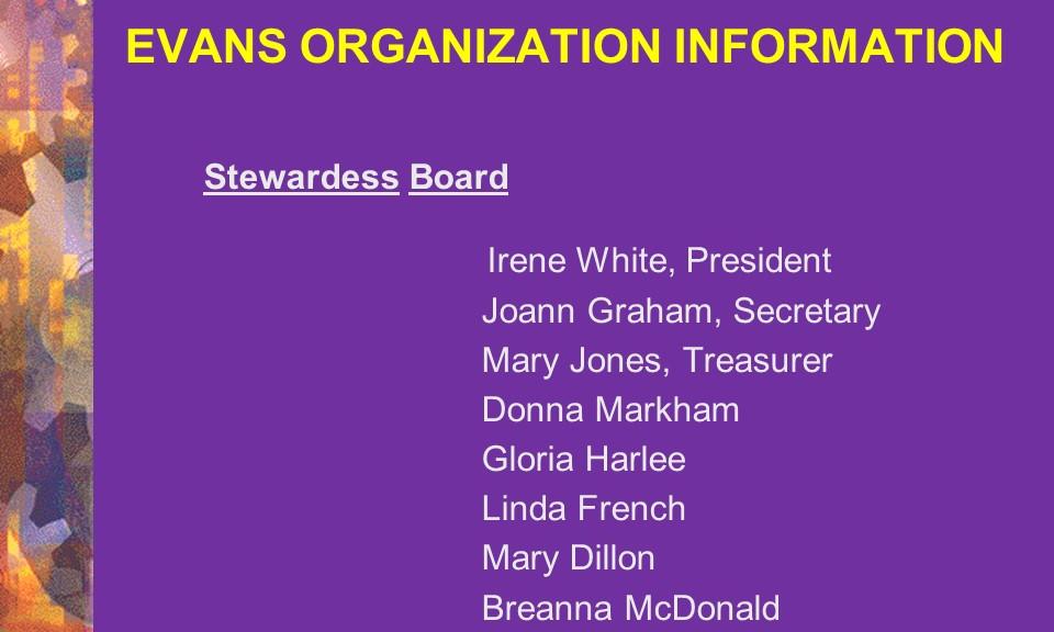 4-Stewardess Board