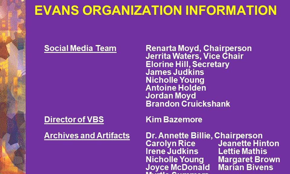 Social Media Team, Director VBS, Archives