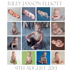 Riley ONE YEAR Timeline