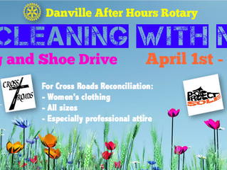 Spring Cleaning with Meaning: Clothing and Shoe Drive