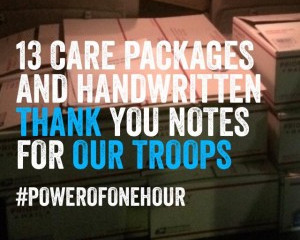 How to send care packages to US troops
