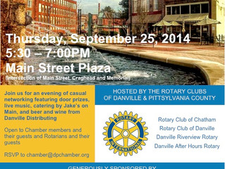 Local Rotary Clubs host Chamber Business After Hours