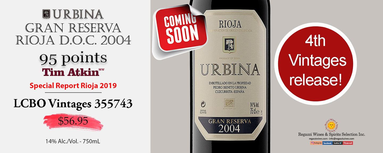 2004 Urbina Gran Reserva Rioja DOC