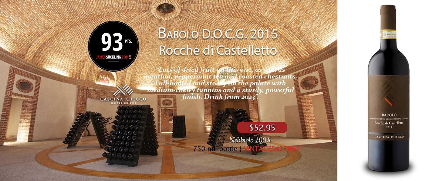 2015 Barolo DOCG Rocche di Castelletto