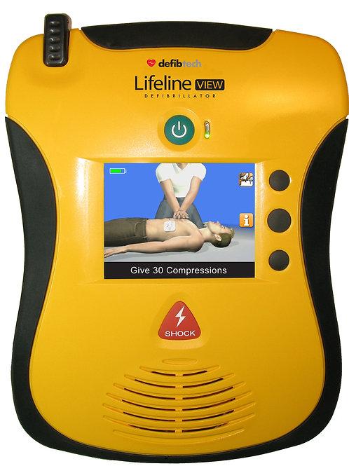 Defibtech Lifeline View Defibrillator -Package