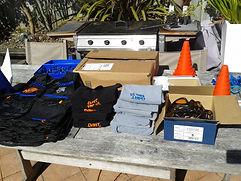 Nerf gear, team jersey, tactical vest
