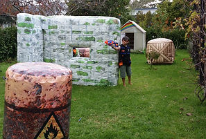Nerf inflatable bunkers