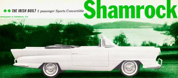 """'59 """"Shamrock"""" Irish Car courtesy: www.independent.ie"""