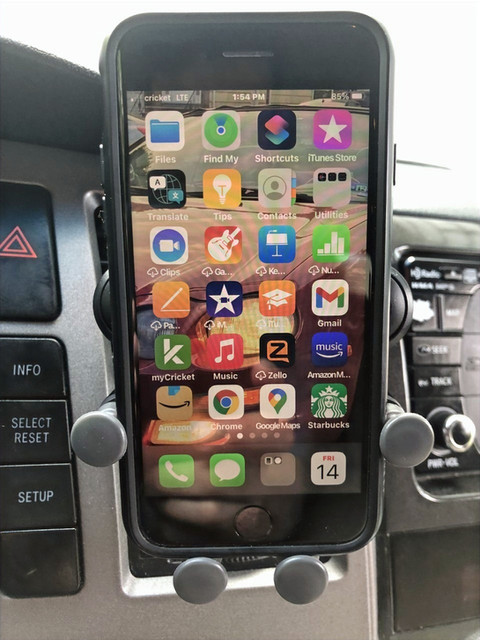 Uniden's Web Grip Air Vent Phone Holder: Product Review