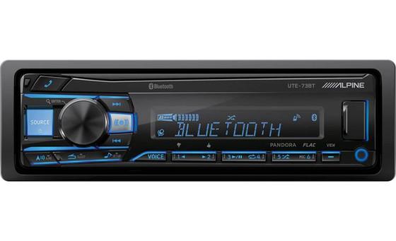 Alpine's UTE73 BT: Car Stereo Review