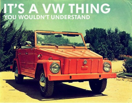 Vintage Friday Update:                     '74 VW Thing!