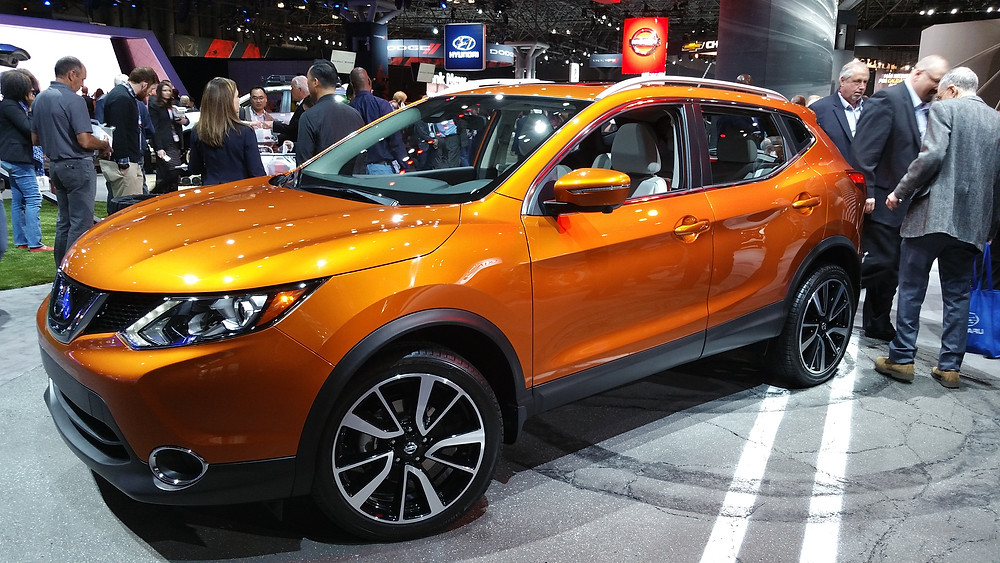2017 Nissan Rogue Sport debuted in Detroit.