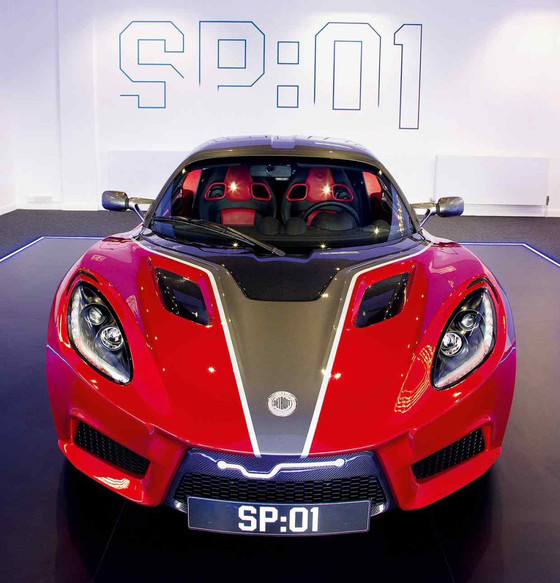 Detroit Electric's SP:01 Roadster