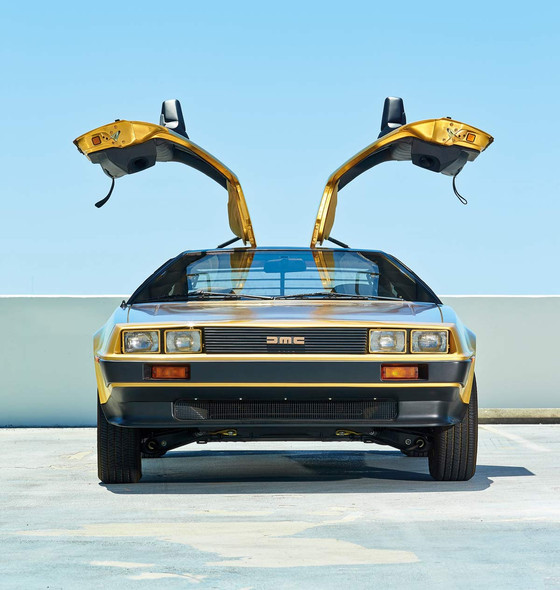 Delorean Gold
