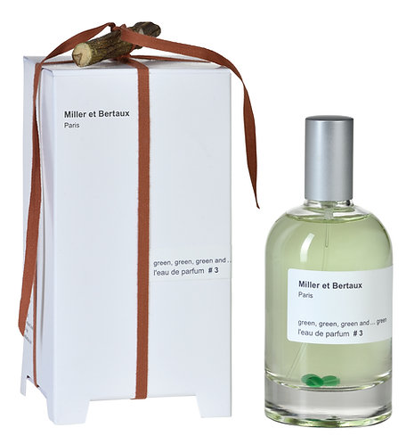 Miller et Bertaux  Eau de Parfum #3 Green, green, green and...greem EDP 100ml