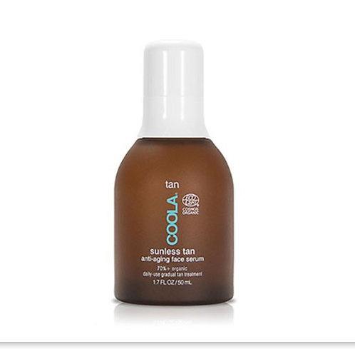 Coola Tan sunless tan anti-aging face serum