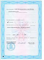 Лицензия на образовательную деятельность. Тестирование по русскому языку