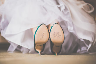 Wedding Shoes - Bride - Kelowna Wedding