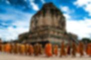 Thaiföld Wat Chedi Luang ChiangMai