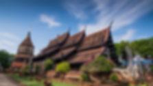 Thaiföld Wat Lok Molee ChiangMai