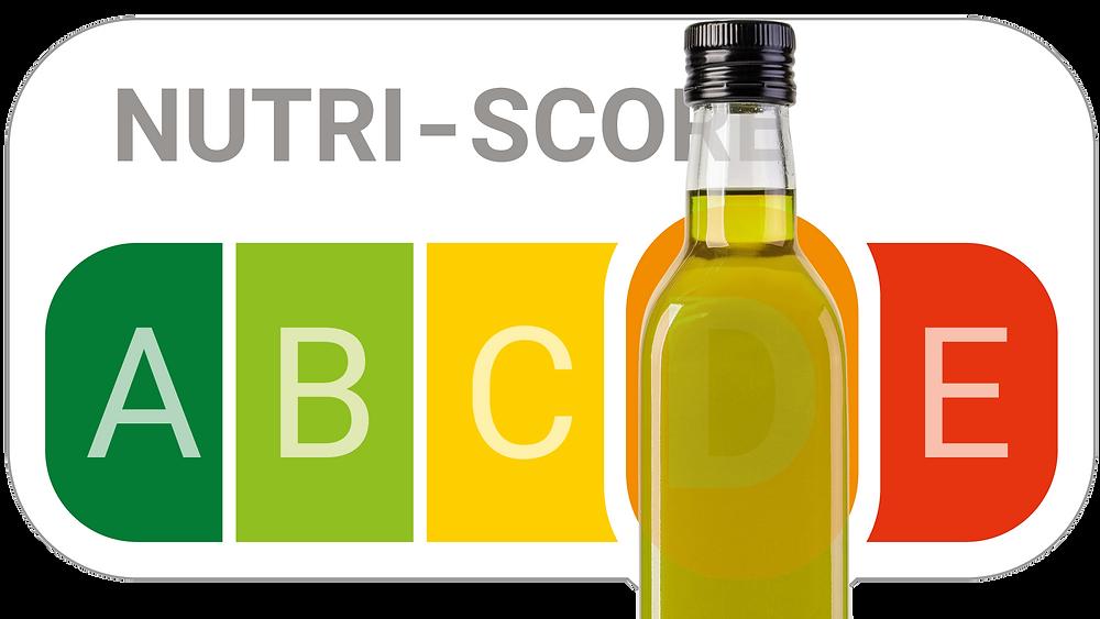 Der Nutri-Score meint es mit dem Olivenöl nicht sonderlich gut. (Bildmontage: evoo.expert)