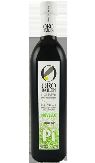 Oro Bailén Picual Novello - 2019 - 500 ml - Olivenöl Extra Vergine