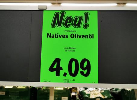 """Lidl passt Olivenölsortiment an und zeichnet dabei ein """"Raffinat"""" als natives Olivenöl aus"""