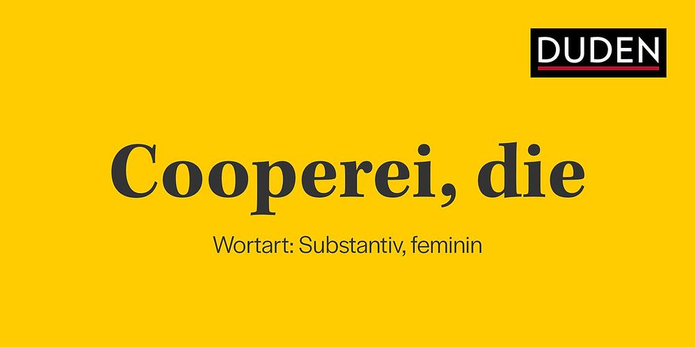 """Könnte der Begriff """"Cooperei"""" dereinst als synonym für üble Machenschaften stehen? (Bildmontage Master of Olive Oil)"""