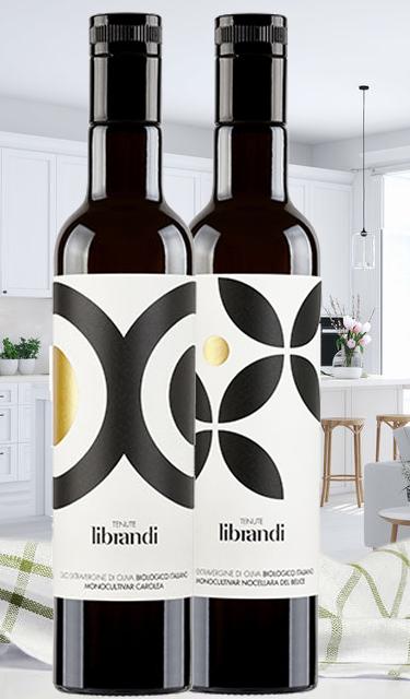 Kalabrien-Duo Librandi - Carolea & Nocellara del Belice - 2019 - 2 x 500 ml