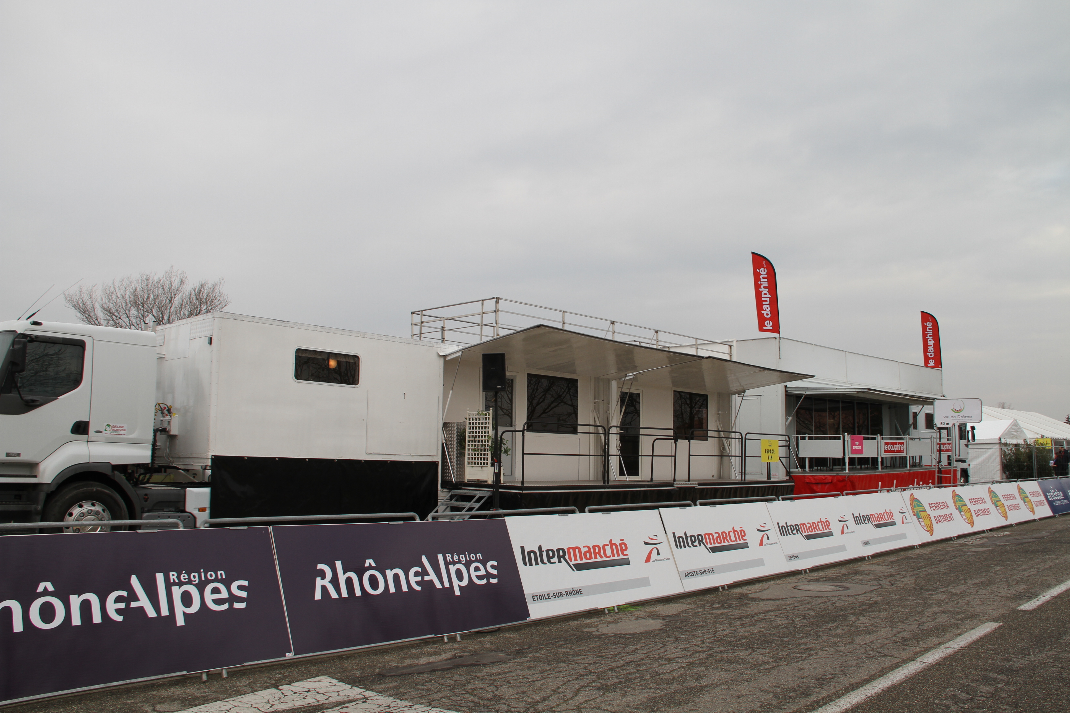 Car podium Oisans