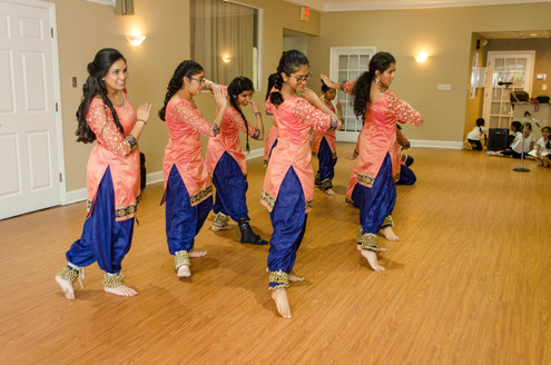 Seniors Class - Holi Dance