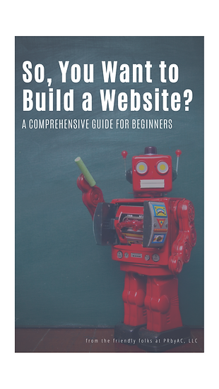 eBook: So, You Want to Build a Website?