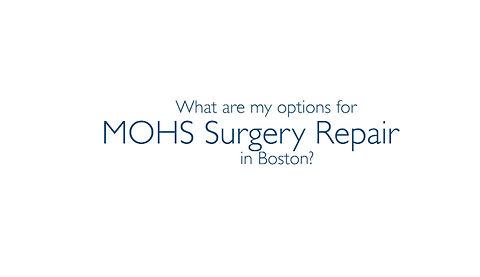 Mohs Surgery Repair Boston Newbury Street