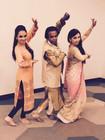 Charkhaji with LeenaJi and Ritisha