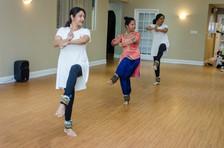 Seniors Class performing Guru Vandana