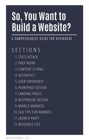 eBook for the Website Design DIYer