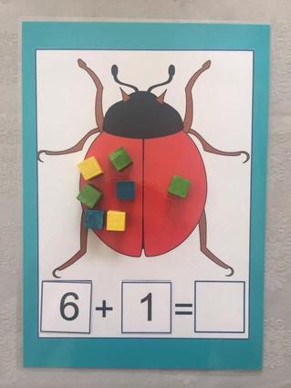 משחק חשבוני חיפושיות לאביב