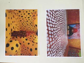 אמנות בגן-יאיוי קוסמה-נקודות