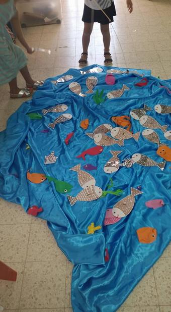 דגים בים