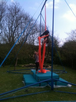 Circus Workshops and 1-1's at Mount Pleasant Eco-Park, Porthtowan - June 12