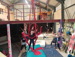 Now you can book training time, in your own time, to suit you, at Circus Academy 2!  Plus new timeta