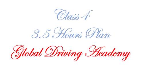 Class 4 - 3.5 Hours Plan