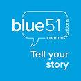 Blue51_SMtile_HorizontalLogo_withTagline